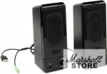 Акустика 2.0 Genius SP-U120, 2x1.5W, USB, черный