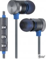 Гарнитура Bluetooth Defender OutFit B710, черный/синий (63711)