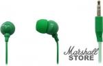 Наушники SmartBuy Color Trend Внутриканальные, 1.2м, зеленые (SBE-3200)