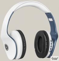 Гарнитура Bluetooth Defender FreeMotion B525, белый/синий (63526)