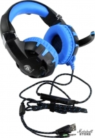 Гарнитура Dialog HGK-34L, черный/синий