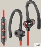 Гарнитура Bluetooth Defender OutFit B720, черный/красный (63721)