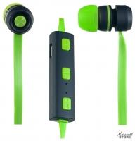 Гарнитура Perfeo Sound Strip зеленый/черный