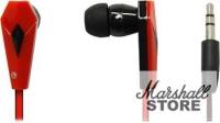 Наушники Defender Trendy 704, красный/черный (63704)
