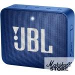 Портативная акустика JBL GO 2, синий (JBLGO2BLU)