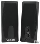 Акустика 2.0 VELTON VLT-SP205 (2x1W, USB)