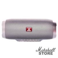 Портативная акустика NoName BY-1050 bluetooth/USB/microSD/AUX, серебристый