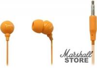 Наушники SmartBuy Color Trend Внутриканальные, 1.2м, оранжевые (SBE-1300)