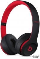 Гарнитура Bluetooth BEATS Solo3 Decade Collection, черный/красный (MRQC2EE/A)