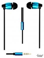 Наушники Microlab K765P, черный/синий