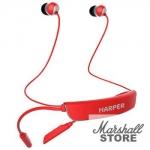 Гарнитура Bluetooth HARPER HB-309, красный