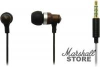 Наушники с микрофоном Sven SEB-300M вставные, коричневый (SV-013578)