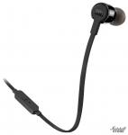 Наушники с микрофоном JBL T210, черный (JBLT210BLK)
