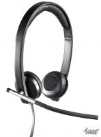 Гарнитура Logitech H650E Stereo, Black (981-000519)