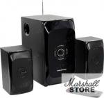 Акустика 2.1 Nakatomi GS-31, 2x15W+30W, USB, черный