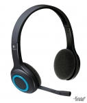 Гарнитура Logitech Wireless Headset H600, USB, черный (981-000342)