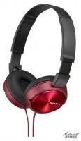 Наушники Sony MDR-ZX310R, Красный