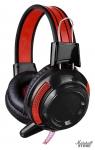 Гарнитура Oklick HS-G300, черный/красный (AH-V1)