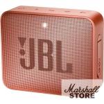 Портативная акустика JBL GO 2, светло-коричневый (JBLGO2CINNAMON)