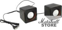Акустика 2.0 Defender SPK 33, USB, черный/оранжевый (65633)