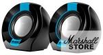 Акустика 2.0 SVEN 150, 2x2.5W, USB, черно-синий (SV-013509)