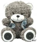 Портативная акустика RITMIX ST-250 Bear BT, 2x3W, MicroSD, FM, AUX, Bluetooth, 2000 мАч, серый