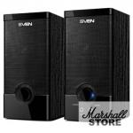 Акустика 2.0 SVEN SPS-603, USB, 2x3W, черный