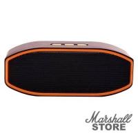Портативная акустика NoName J-2026 mini BT, USB, microSD, оранжевый
