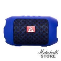 Портативная акустика NoName BS-116 bluetooth/USB/microSD/AUX, синий