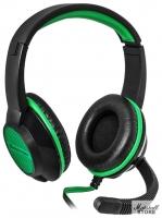Гарнитура Defender Warhead G-200, черный/зеленый (64119)
