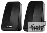 Акустика 2.0 SVEN 380 2x3W, питание USB, черный