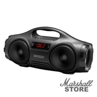 Портативная акустика Ginzzu GM-876B, 2х8W, TFcard, USB, AUX