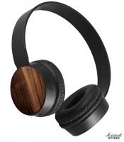 Наушники Bluetooth Qumo Woody, черный (24076)