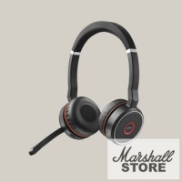 Гарнитура Bluetooth Jabra Evolve 75 MS Stereo, черный (7599-832-109)