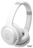 Наушники Bluetooth Audio-Technica ATH-S200BT WH, белый