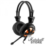 Гарнитура A4Tech HS-28-3, Black-Orange