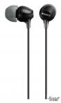 Наушники Sony MDR-EX15LPB вкладыши, черный