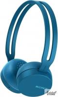 Гарнитура Bluetooth Sony WH-CH400, синий (WHCH400L.E)