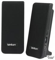 "Акустика 2.0 VELTON VLT-SP232 (2x1W, 3.5 Jack, питание USB)"""
