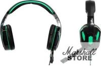 Гарнитура Defender Warhead G-275, черный/зеленый (64122)
