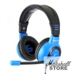 Гарнитура Gembird MHS-G50, черный/синий