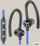 Гарнитура Bluetooth Defender OutFit B720, черный/синий (63720)
