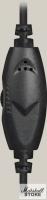 Гарнитура Defender Aura 120, 2x jack 3.5 мм, черный/зеленый (63120)