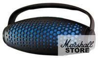 Портативная акустика Ginzzu GM-989B, черный/синий