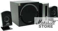 Акустика 2.1 Microlab FC550, 2x15W+24W, Wooden, Black