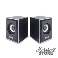 Акустика 2.0 CBR CMS 408, 2x3W, USB, черный/серебристый