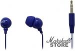 Наушники SmartBuy Color Trend Внутриканальные, 1.2м, синие (SBE-3400)