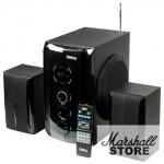 Акустика 2.1 Dialog Progressive AP-209, 2*15W+30W, USB, черный