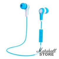 Наушники Bluetooth Smarterra BTHS-1, голубой/белый (SBTHS1BL)