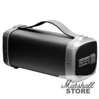Портативная акустика 1.0 Ginzzu GM-888В (BT, 10W, FM, microSD, USB, AUX), черный